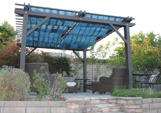 Fascinating Shade Cloth On Pergola Diy Pergola Cover With Rit And Home Depot Painters Cloth Fabric