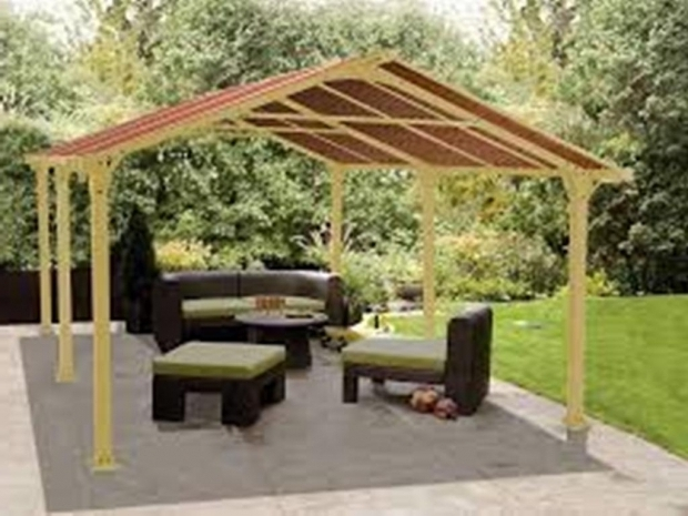 Gorgeous Diy Gazebo Canopy Diy Gazebo Canopy Replacement Covers Design Home Ideas
