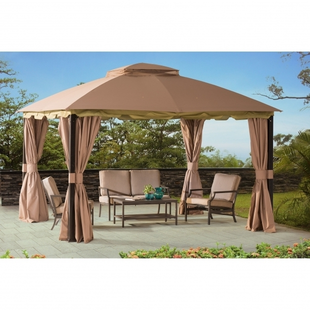Image of Gazebo Canopy Clearance Landscaping Enjoy The Touch Of Nature You Want From The Outdoors