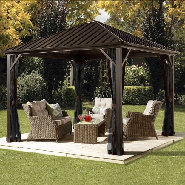 Image of Hardtop Gazebos On Sale Patio Gazebos Yard Gazebos Shade Gazebos Sun Shelters