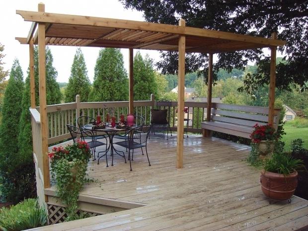 Image of How To Build A Large Pergola How To Build A Backyard Pergola Hgtv