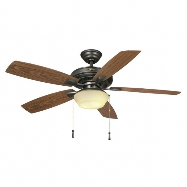 Image of Outdoor Fan For Gazebo Hampton Bay Gazebo Ii 52 In Indooroutdoor Weathered Bronze