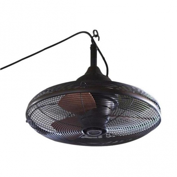 Image of Outdoor Fan For Gazebo Shop Allen Roth Valdosta 20 In Dark Oil Rubbed Bronze Downrod