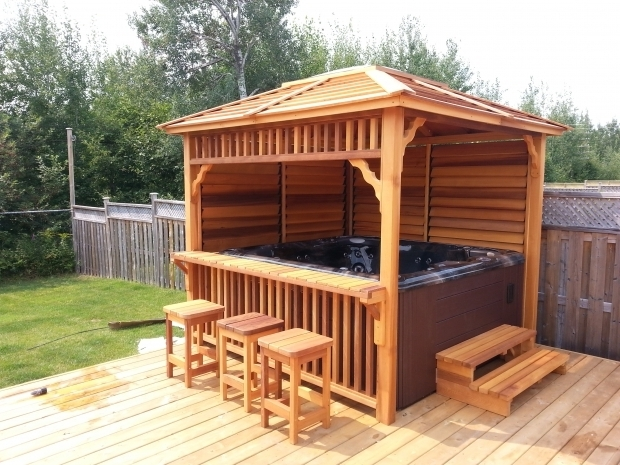 Inspiring Hot Tub With Gazebo For Sale Hot Tub Gazebos Canada Minimalist Pixelmari