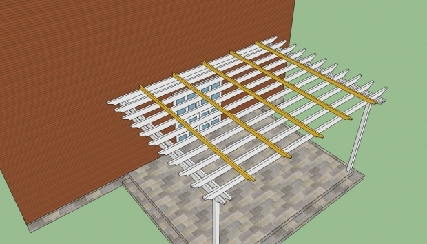 Inspiring How To Build A Pergola Attached To The House How To Build A Pergola Attached To The House Howtospecialist