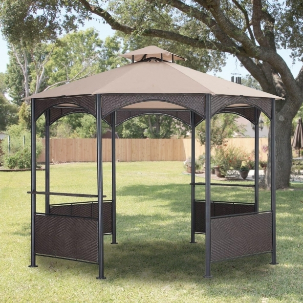 Inspiring Sam's Club Gazebo Canopy Replacement Garden Winds Replacement Canopy For Gazebos Sold At Walmart Or