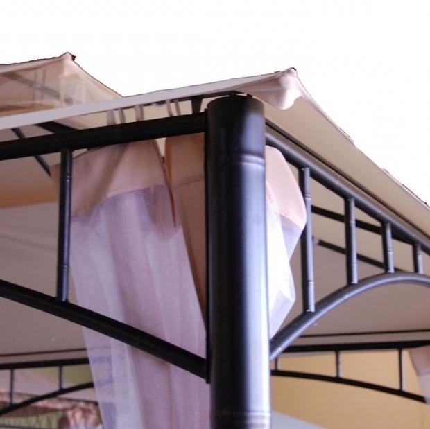 Inspiring Threshold Madaga Gazebo Sunjoy Madaga Replacement Canopy And Netting Garden Winds