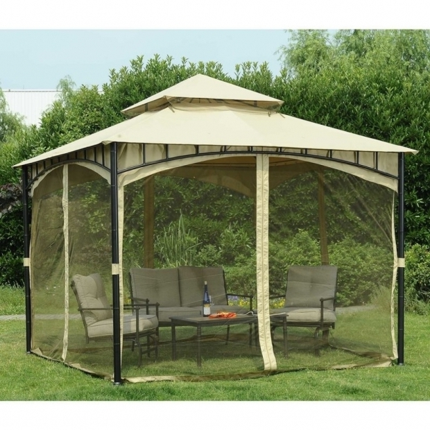 Marvelous Pop Up Gazebo With Netting Sunjoy Replacement Mosquito Netting For Gardena Gazebo Reviews Pop