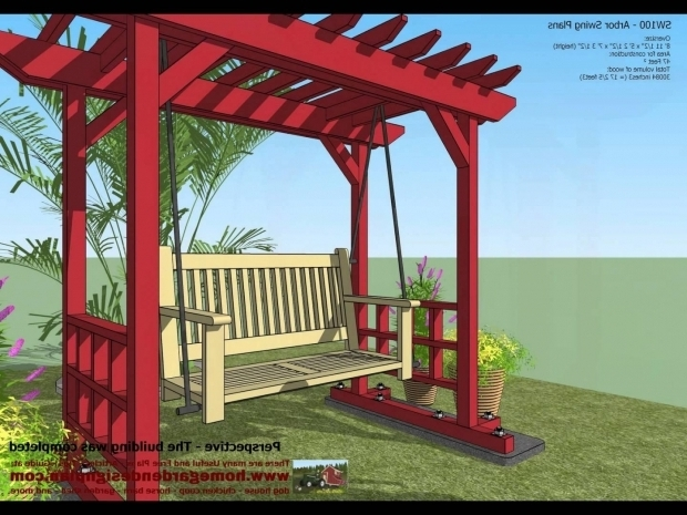 Outstanding How To Build A Arbor Pergola Sw100 Arbor Swing Plans Construction Garden Swing Plans