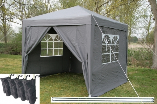 Outstanding Pop Up Gazebo With Sides Airwave 25x25m Pop Up Gazebo Waterproof Garden Gazebo 2 Windbars