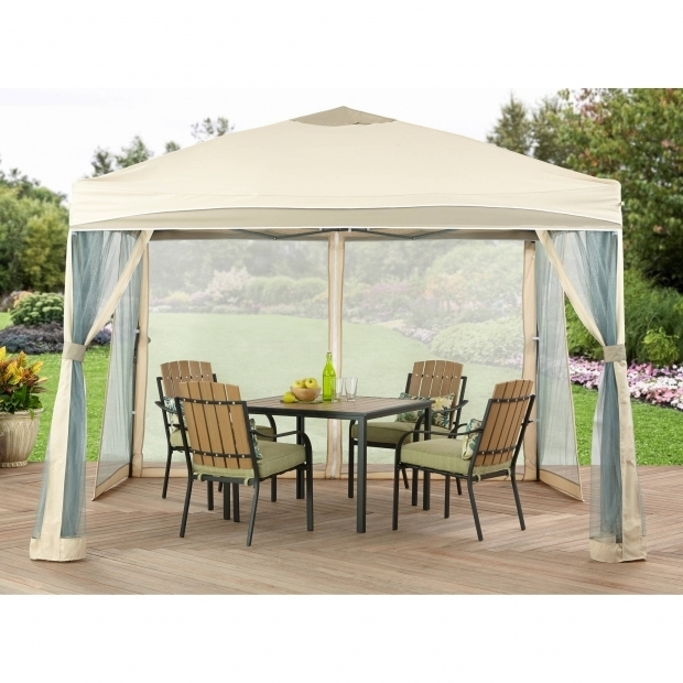 Outstanding Portable Gazebo For Deck 10 X 12 Outdoor Backyard Regency Patio Canopy Gazebo Tent With