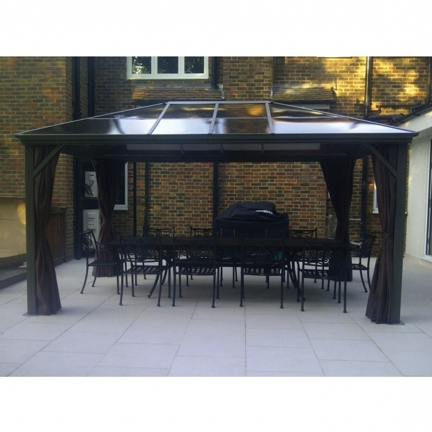 Picture of Gazebo Penguin Four Season Hard Roof Gazebo Best Roof 2017
