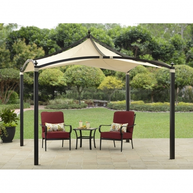 Picture of Portable Gazebo For Deck Landscaping Enjoy The Touch Of Nature You Want From The Outdoors