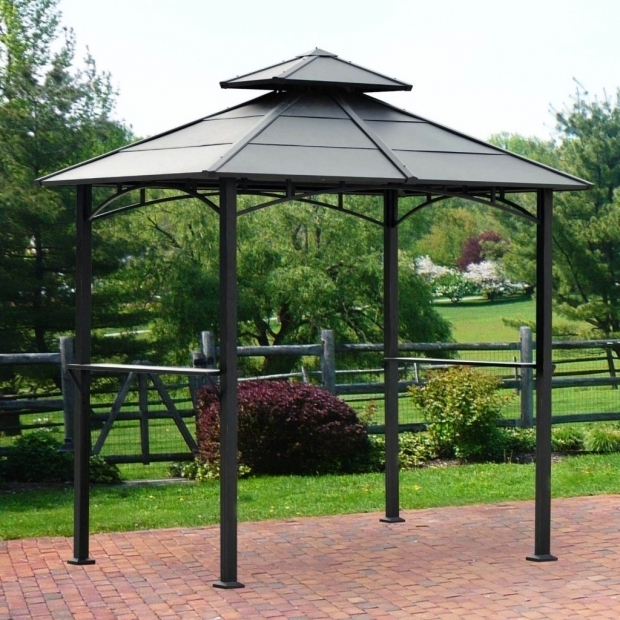 Picture of Sunjoy Grill Gazebo Hardtop Gazebos Best 2017 Choices Sorted Size