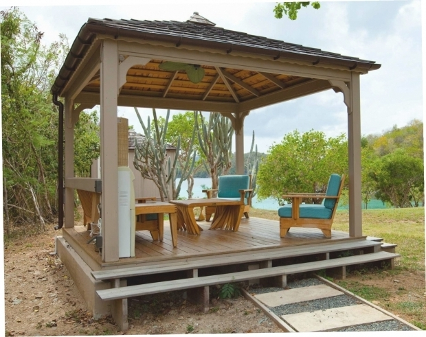 Picture of Wooden Gazebo Kits Wooden Gazebo Kits Pergola Kits Rectangle Log Gazebo Wood
