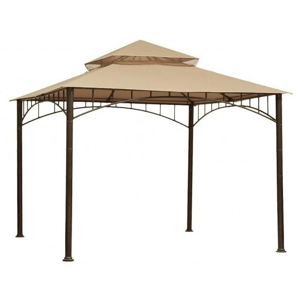 Remarkable 8x8 Gazebo Canopy Replacement Lowes Patio Gazebo Canopy Patio Decoration