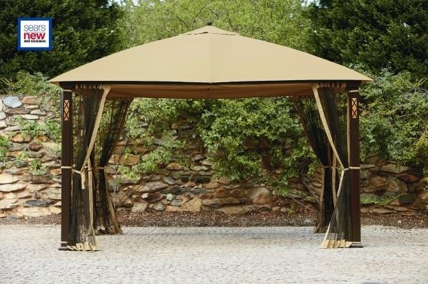 Remarkable Essential Garden Gazebo Interior Design Gazebo Ideas 10x10 Gazebo Replacement Canopy With