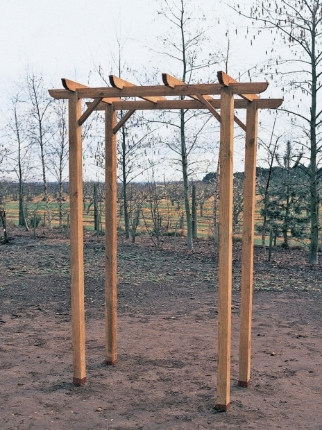 Remarkable How To Build A Arbor Pergola How To Build An Arbor With A Bench How Tos Diy