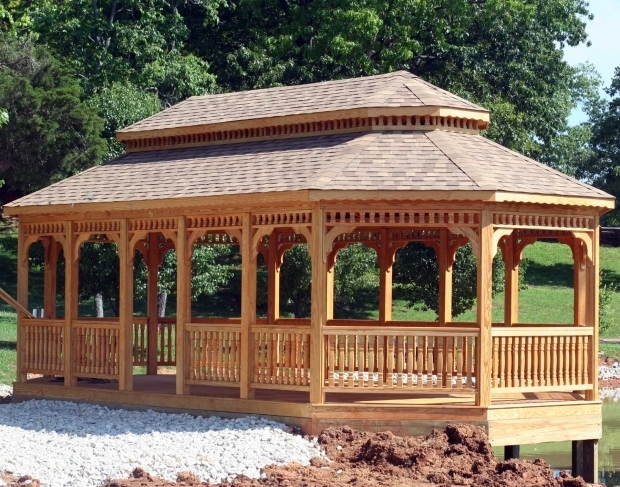Stunning Gazebo Roof Ideas Top 25 Best Backyard Gazebo Ideas On Pinterest Gazebo Garden