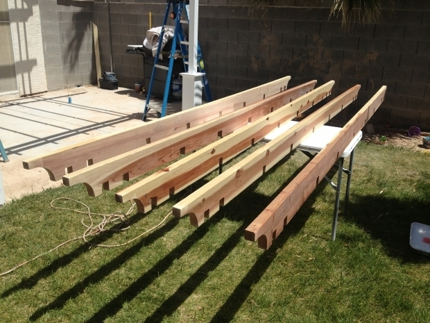 Stunning How To Build A Pergola Attached To The House Ana White Pergola Attached Directly To The House Diy Projects