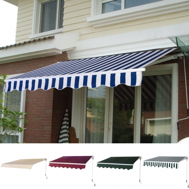 Stunning Sunshade Awning Gazebo Manual Patio 82 65 Retractable Sunshade Awning Canopies