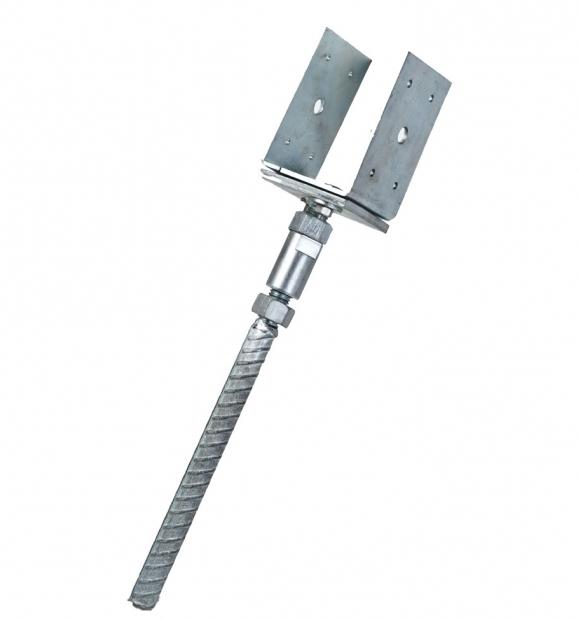 Stylish Pergola Post Anchor Adjustable Post Ground Anchor