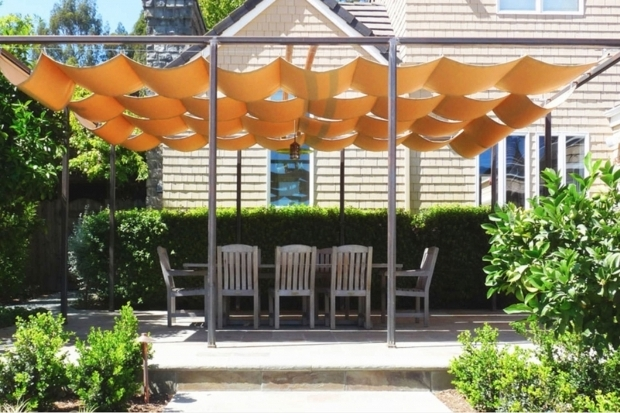 Stylish Retractable Pergola Shade Covers Choosing A Retractable Canopy Track Single Multi Cable Or Roll