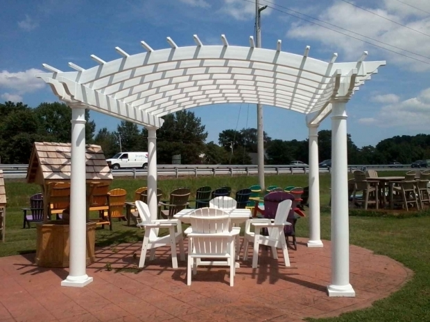 Vinyl pergola parts pergola gazebo ideas for Parts of a pergola