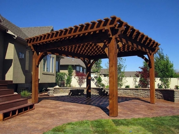 Stylish Wood Pergola Kits Wood Pergola Kits Home Design Styles