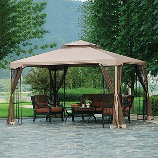 Wonderful Big Lots Gazebo 10 X 12 Big Lots 10 X 12 Arrow Gazebo Replacement Canopy Garden Winds Big