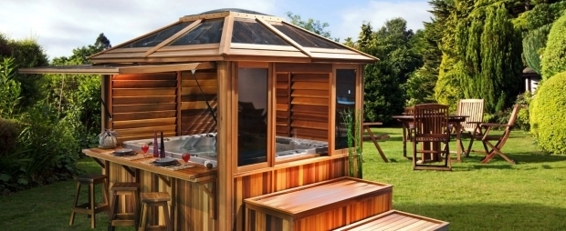 Wonderful Enclosed Gazebo For Hot Tub Gazebo For Hot Tub Design Home Design And Decor