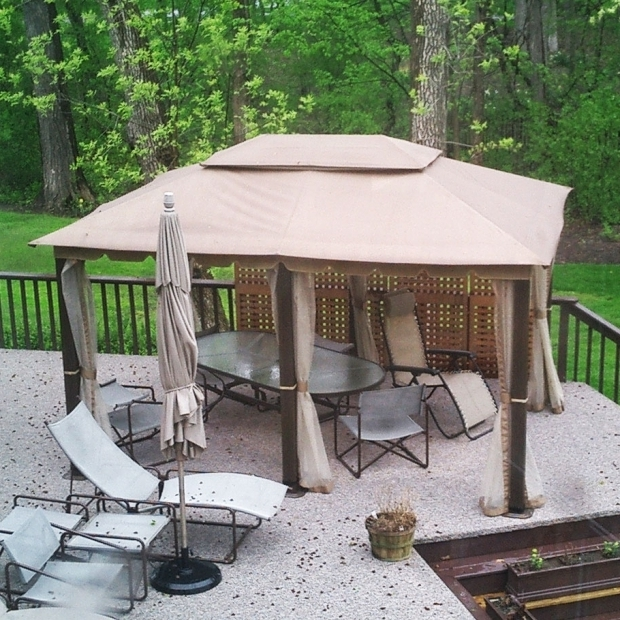 Wonderful Home Depot Gazebos And Canopies 10 X 13 Gazebo Replacement Canopy Gaz 434714 Garden Winds
