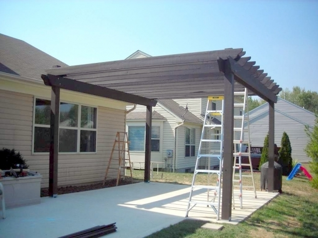 Wonderful How To Build A Pergola Over A Patio Building A Pergola Over A Patio All Home Design Ideas