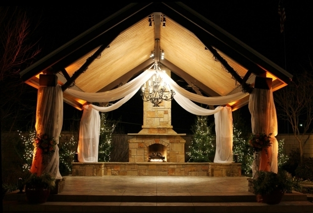 Wonderful Outdoor Gazebo Lighting Chandelier Outdoor Gazebo Lighting Ideas Homesfeed