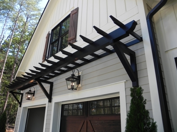 Wonderful Pergola Over Garage Door Trellis Over Garage Door Wageuzi