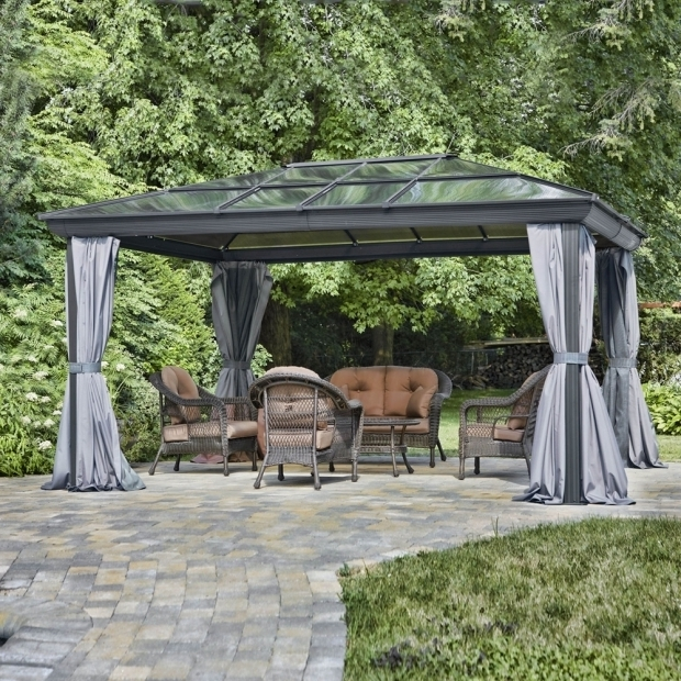 Beautiful Gazebo Penguin Inc Gazebo Penguin 43204 14 Ft X 10 Ft All Seasons Hardtop Gazebo