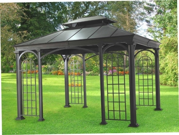 Delightful Metal Gazebo Kits Metal Gazebo Kit Gazebo Ideas