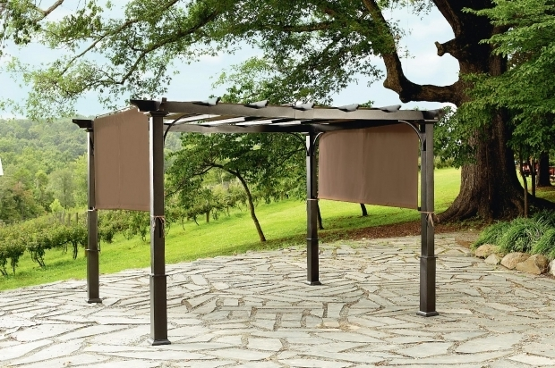 Delightful Steel Pergola With Canopy Pergola Design Ideas Steel Pergola With Canopy Best Quality Design