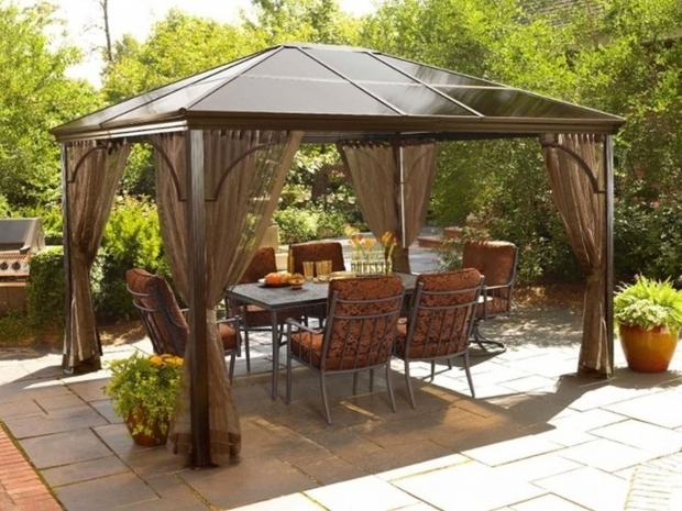 Inspiring Patio Gazebo Lowes Outdoor Lowes Patio Gazebo Vinyl Pergola Home Depot Pergola