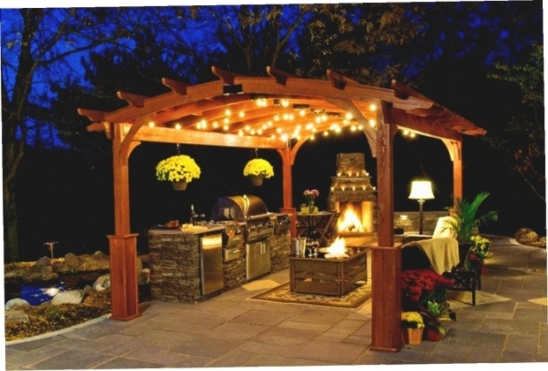 Marvelous Hanging Solar Lights For Gazebo Solar String Lights For Gazebo Gazebo Ideas