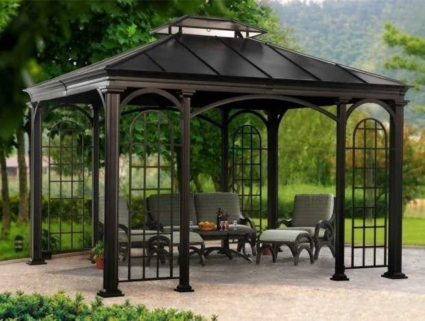 Marvelous Metal Gazebo Kits Metal Roof Gazebo Kits Hardtop Design Metal Roof Gazebo Kits