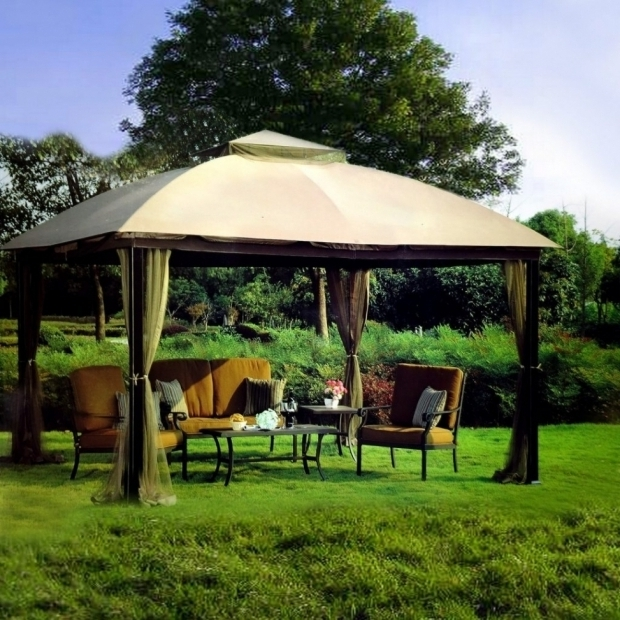 Outstanding Patio Gazebo Lowes Lowes Patio Gazebo Patio Outdoor Decoration