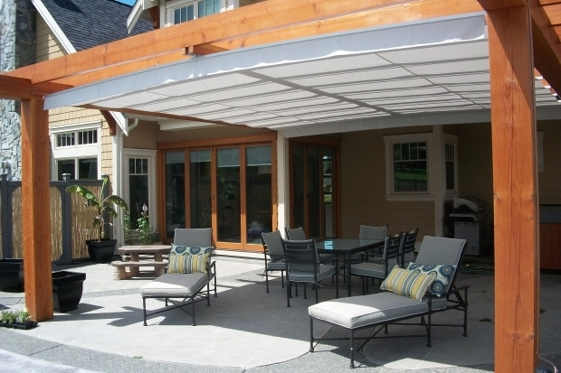 Beautiful Retractable Shade Pergola Gimme Shelter The Shadefx Retractable Canopy