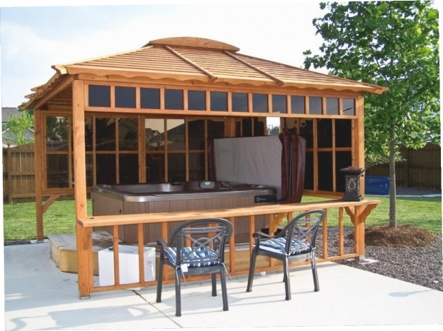 Fantastic Hot Tub Gazebo Plans Hot Tub Gazebo Plans Gazebo Ideas