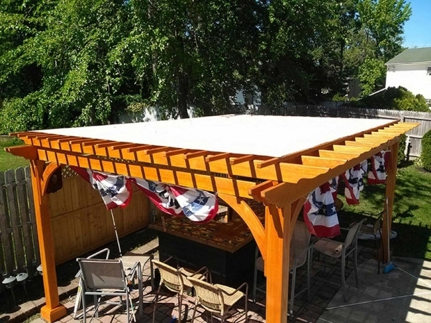 Gorgeous Pergola Waterproof Shade Cloth Custom Fabricated Pergola Covers
