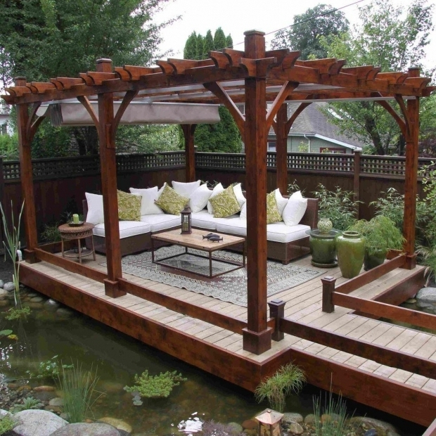 Gorgeous Pergola With Retractable Canopy Outdoor Living Today Breeze Cedar 12 Ft X 20 Ft Pergola With
