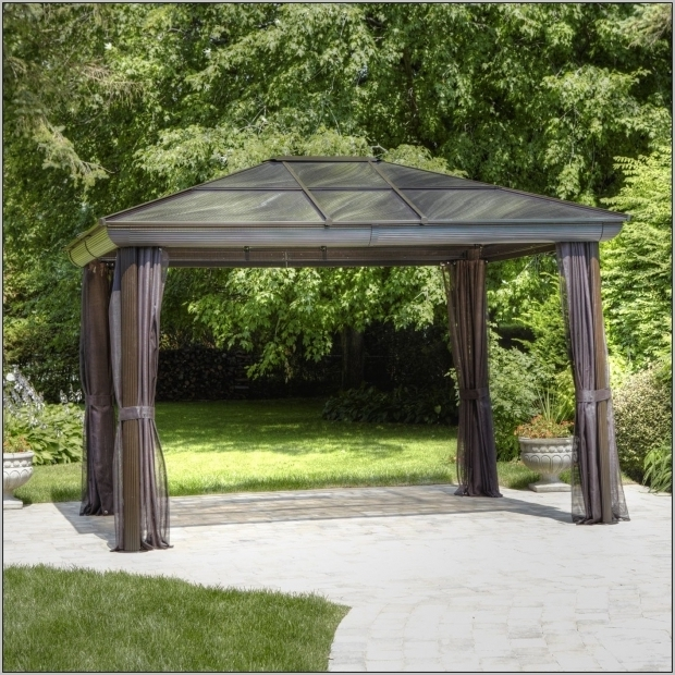 Incredible Allen Roth Hardtop Gazebo Allen Roth Gazebo Curtains Home Design Ideas Ozpoyxr6dq Loversiq