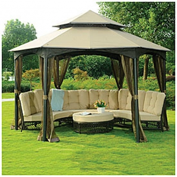 Incredible Wilson & Fisher Sonoma Gazebo Wilson And Fisher Sonoma 10 X 12 Gazebo Dropress Gazebos