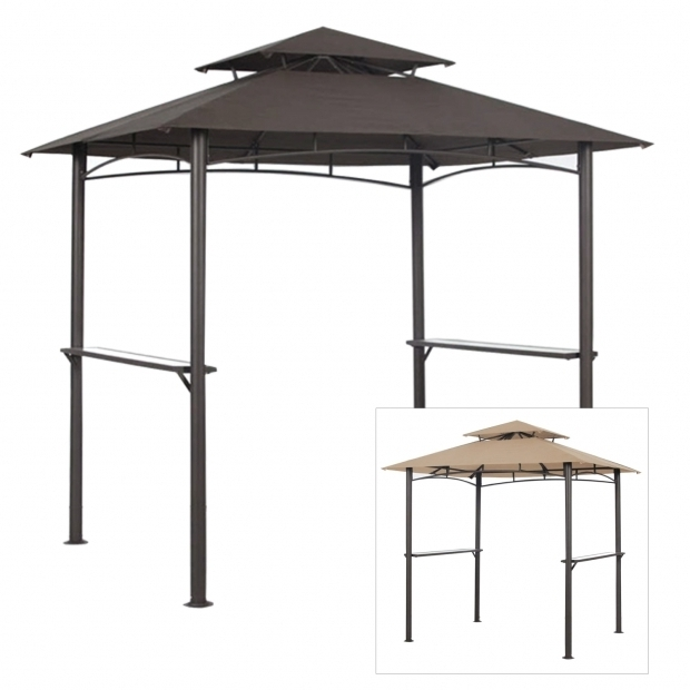 Inspiring Hampton Bay Grill Gazebo Replacement Canopy Gazebo Replacement Canopy Top And Replacement Tops Garden Winds