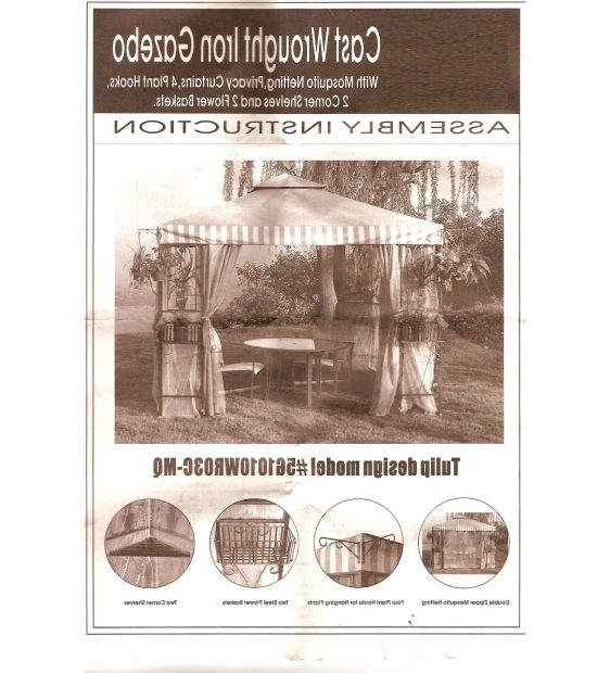 Inspiring Pacific Casual Gazebo Expo Design 10 X 10 Pacific Casual Gazebo Replacement Canopy